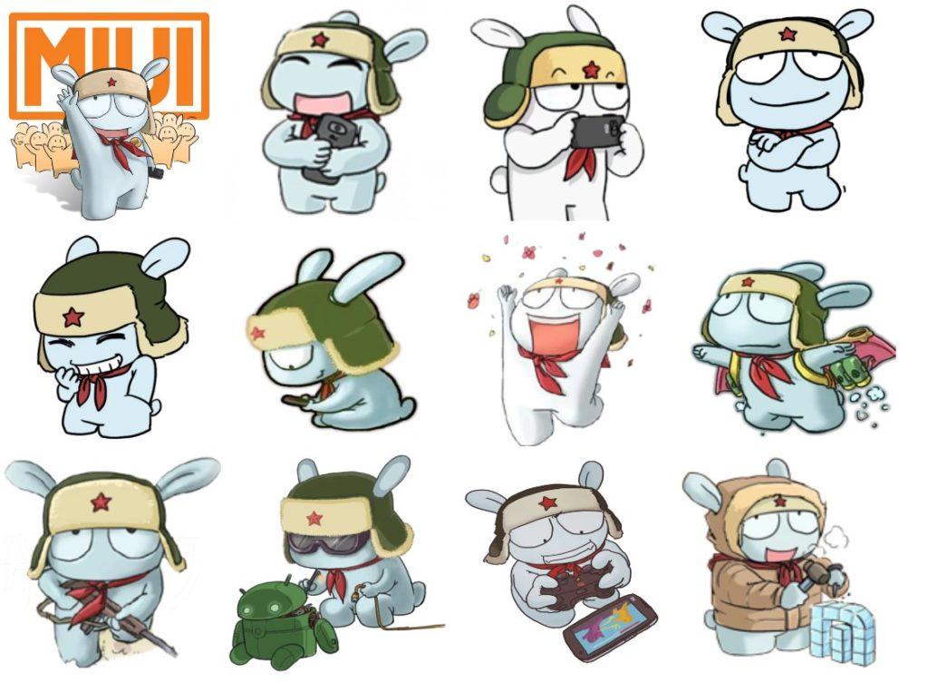 Стикеры «Xiaomi | Miui» для Telegram