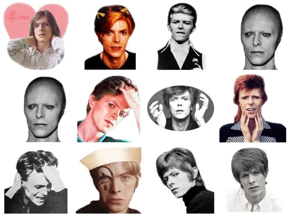 Стикеры «David Bowie» для Telegram