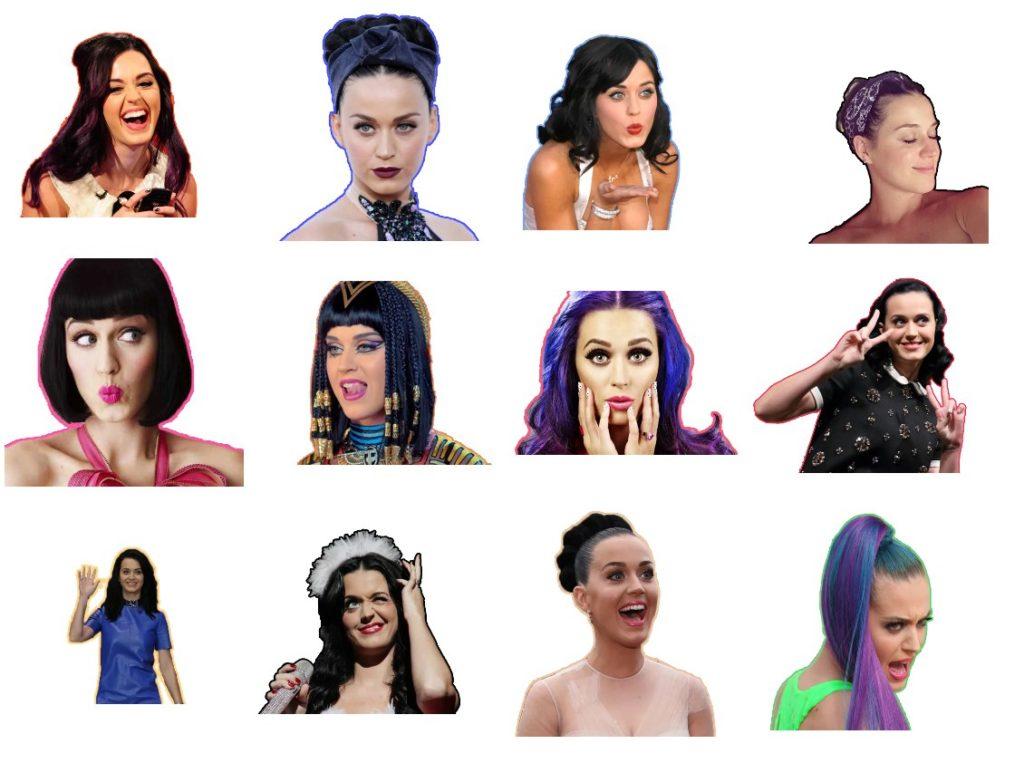 Стикеры «Katy Perry» для Telegram