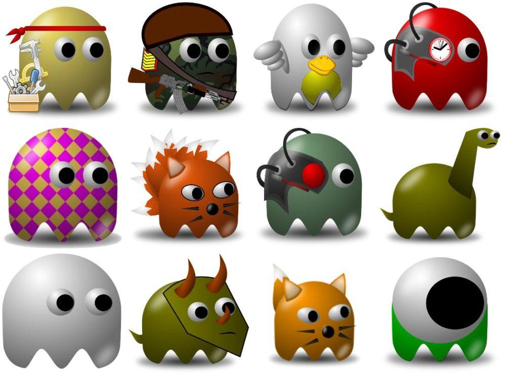 Стикеры «Pacman » для Telegram