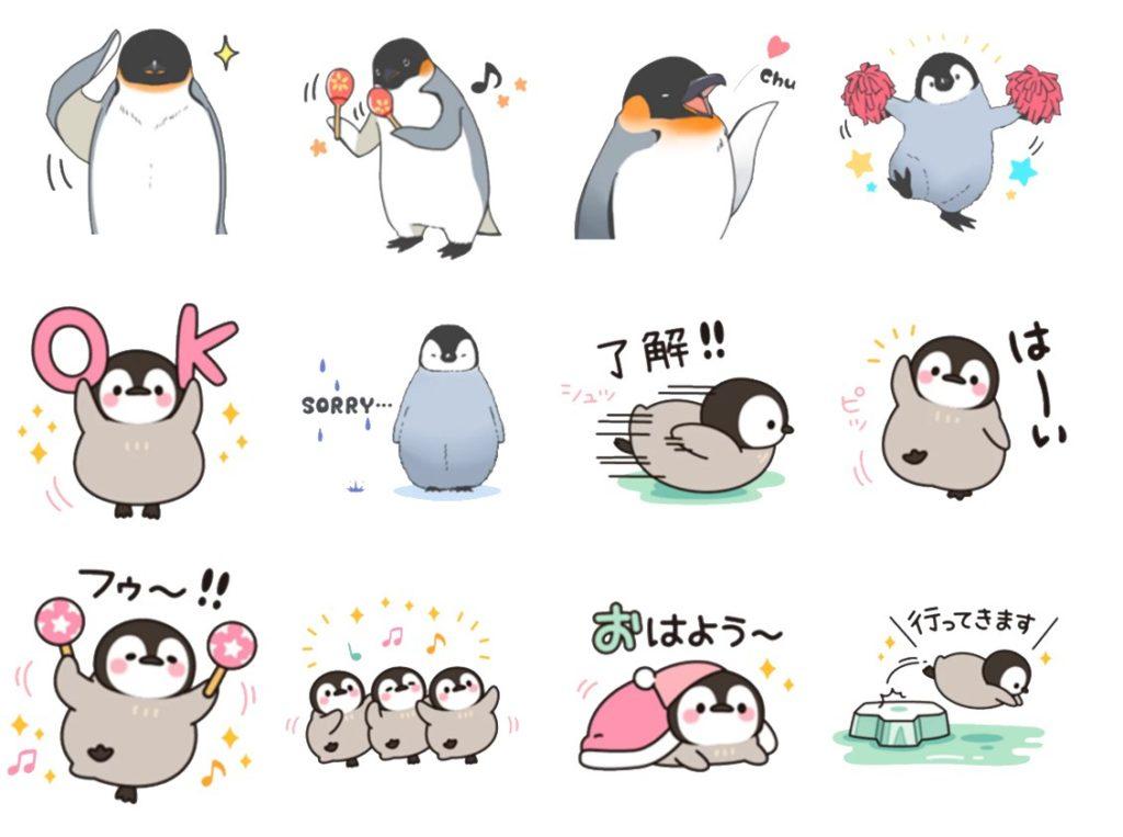 Стикеры «Пингвин» для Telegram