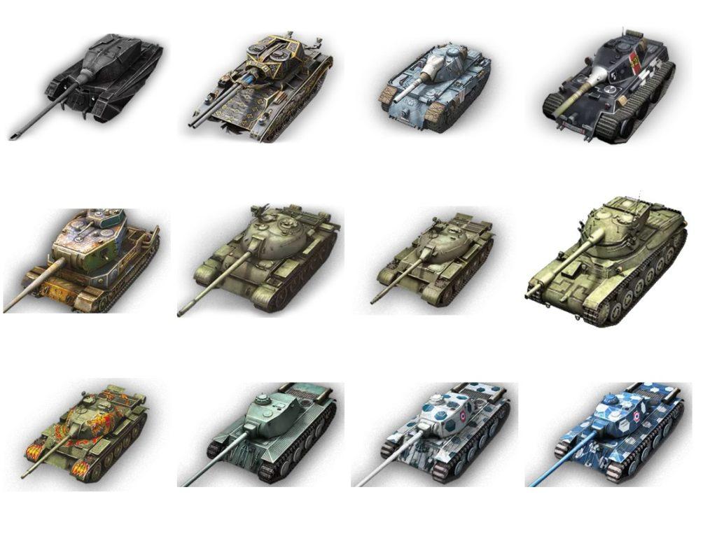 Стикеры «WoT Blitz Tanks » для Telegram